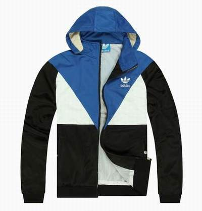 veste adidas bleue butterfly